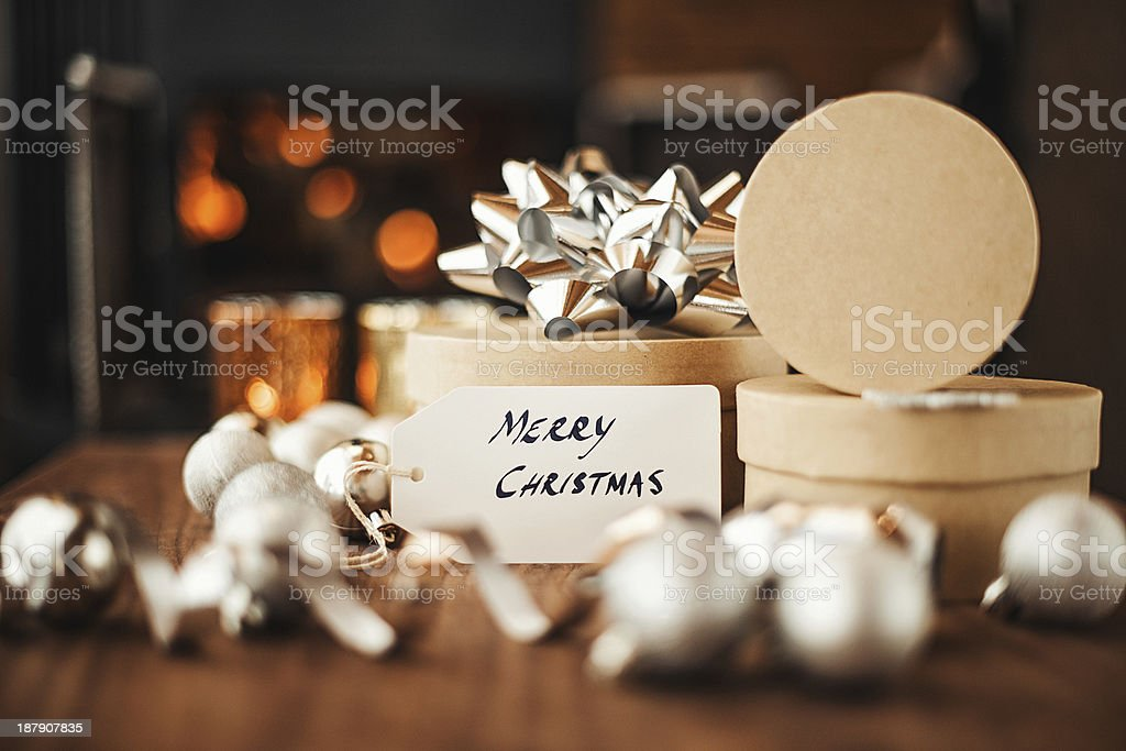 Christmas decorations royalty-free stock photo