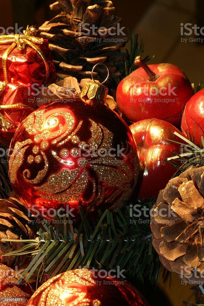 Christmas Decorations stock photo