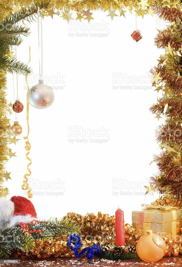 Christmas decorations. royalty-free stock photo