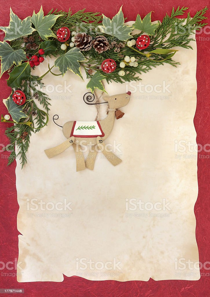 Christmas Decorative Frame royalty-free stock photo