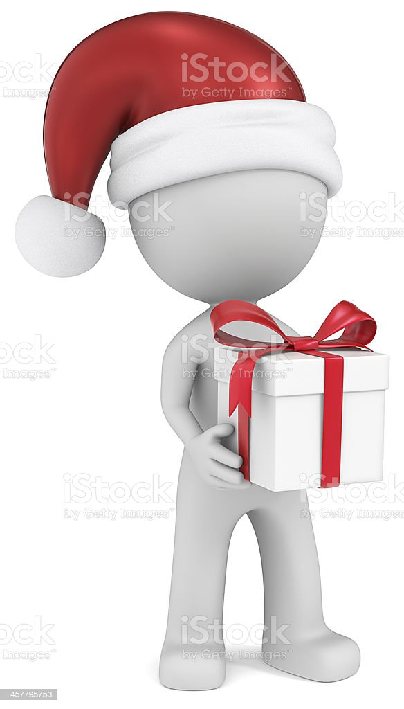 Christmas Delivery. royalty-free stock photo