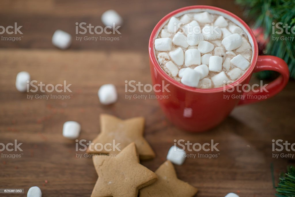 Christmas Dessert stock photo