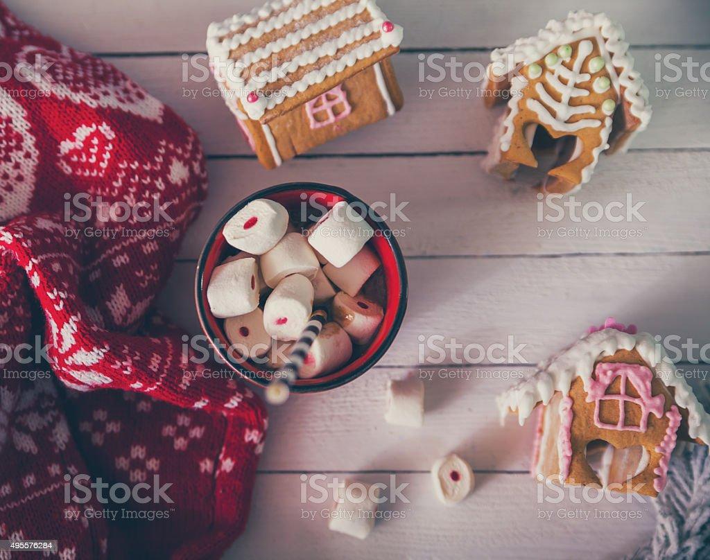 Christmas Desserts stock photo