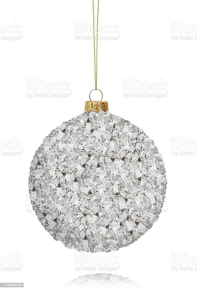 Christmas Diamond Ball royalty-free stock photo