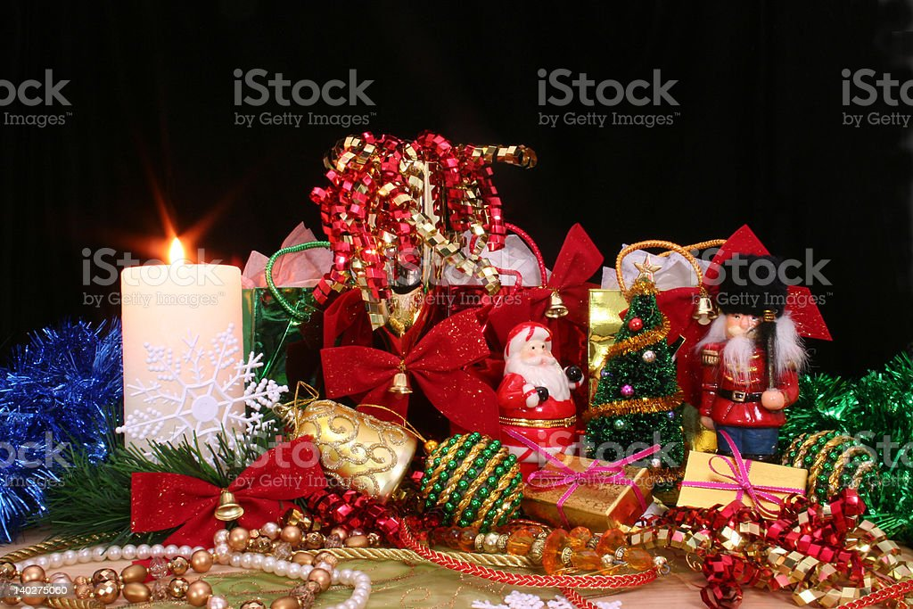 Christmas Display royalty-free stock photo