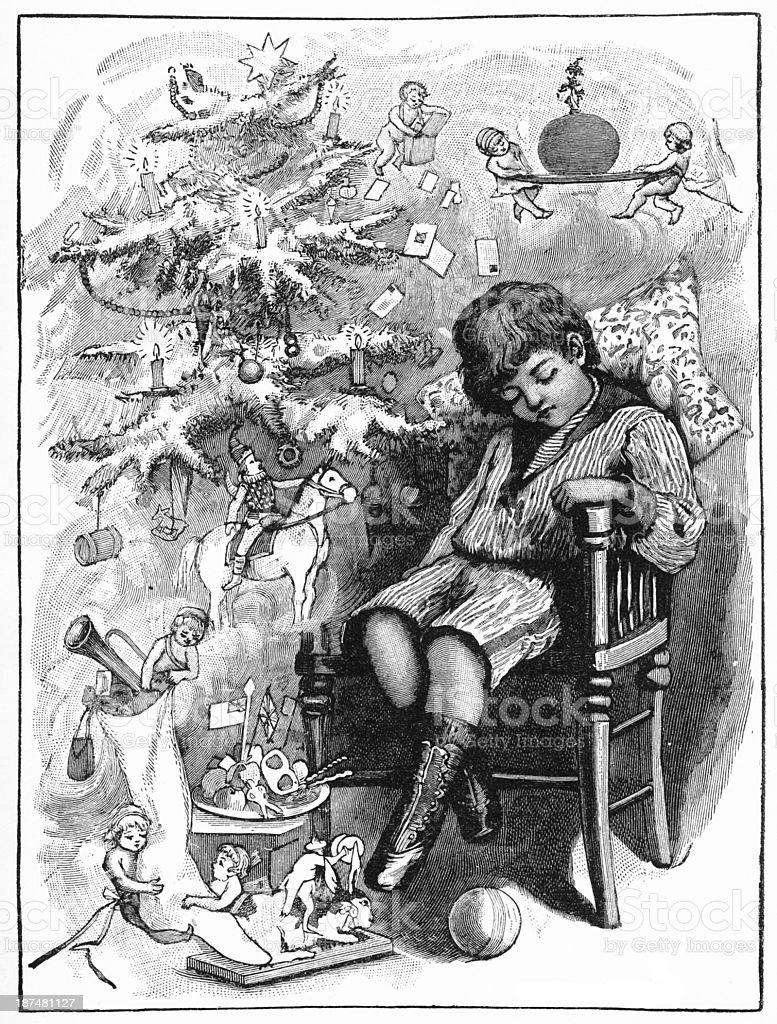 Christmas dream royalty-free stock photo