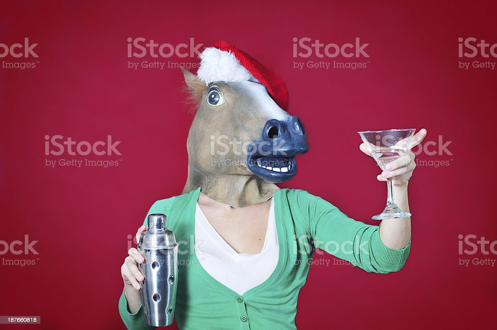 Christmas drink royalty-free stock photo