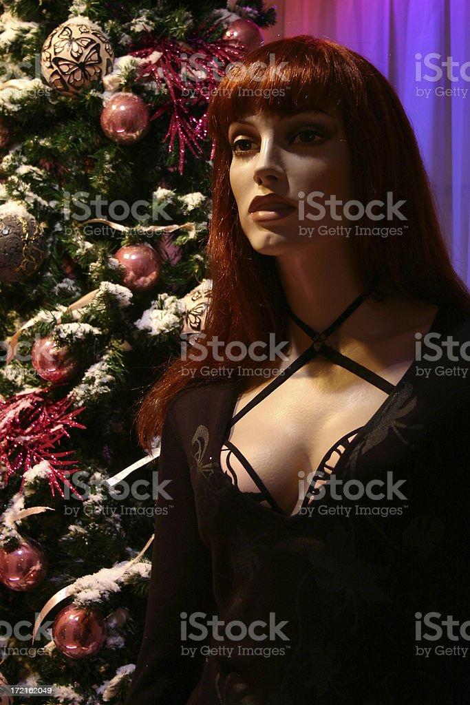 Christmas Dummy royalty-free stock photo