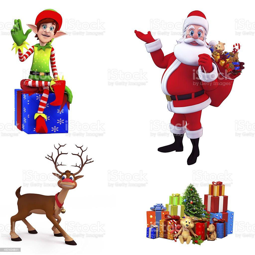 Christmas Element royalty-free stock photo