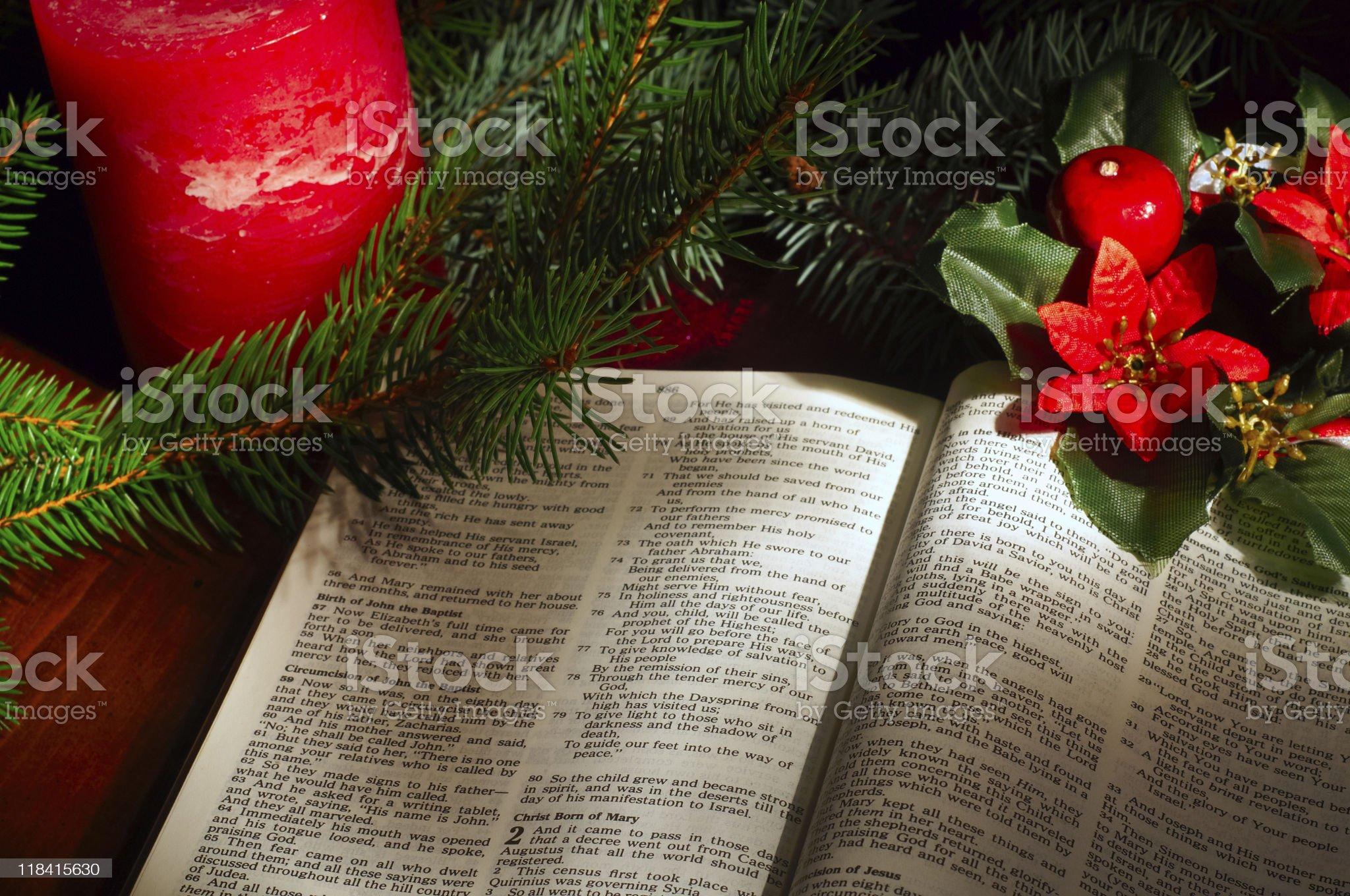 Christmas ensemble royalty-free stock photo