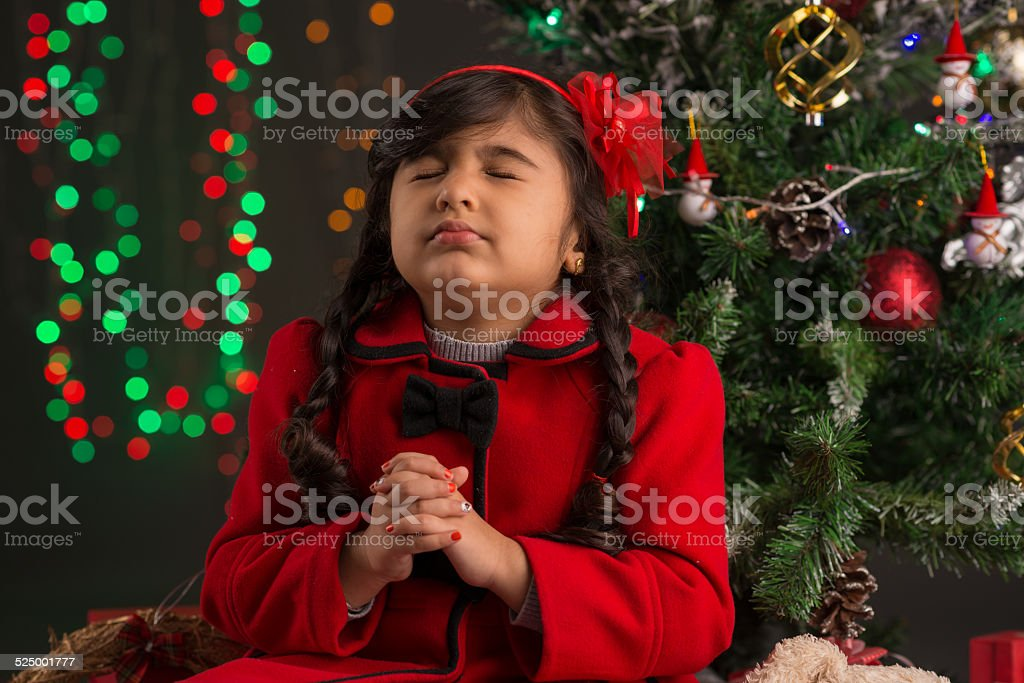 Christmas Eve stock photo
