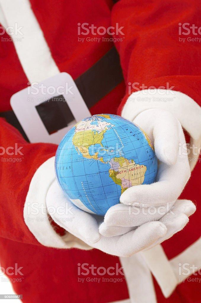 Christmas everywhere royalty-free stock photo