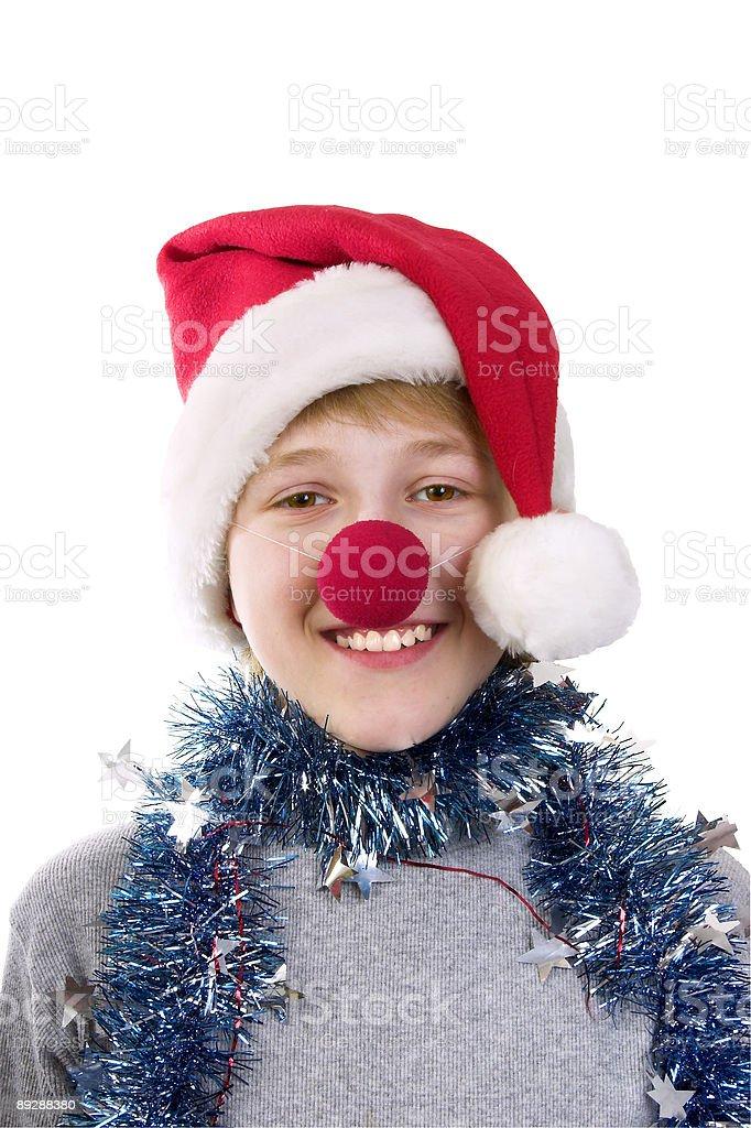 Christmas fancy dress royalty-free stock photo