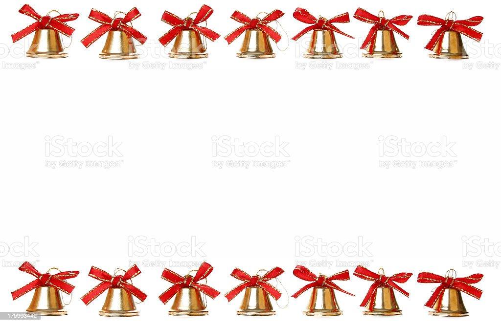 Christmas festive border - Add Text stock photo