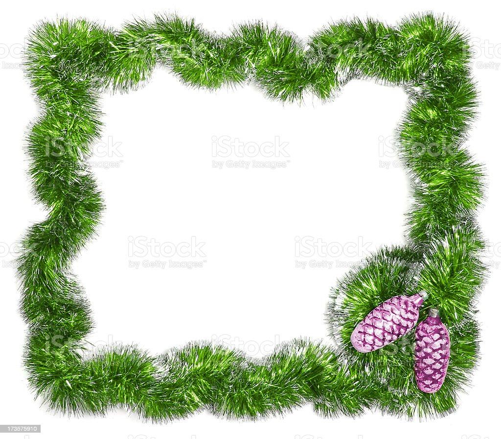Christmas festive frame - Add Text royalty-free stock photo