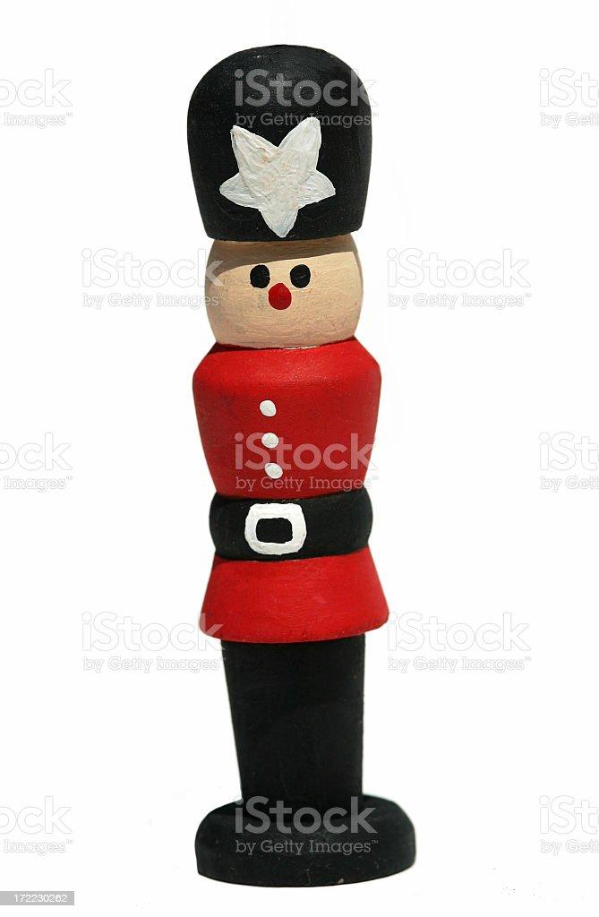 Christmas Figurine royalty-free stock photo
