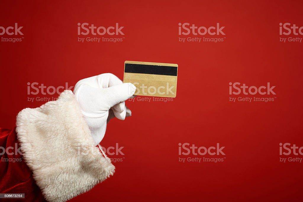 Christmas finances stock photo