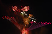 Christmas firework