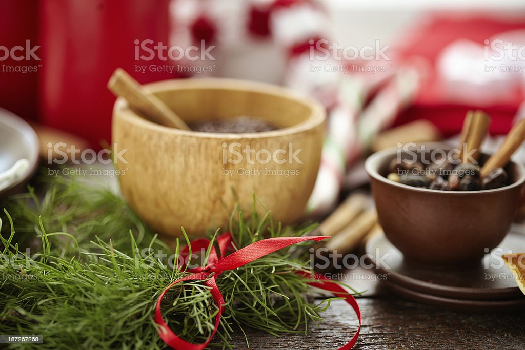 Christmas flavors royalty-free stock photo