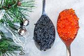 Christmas food concept: