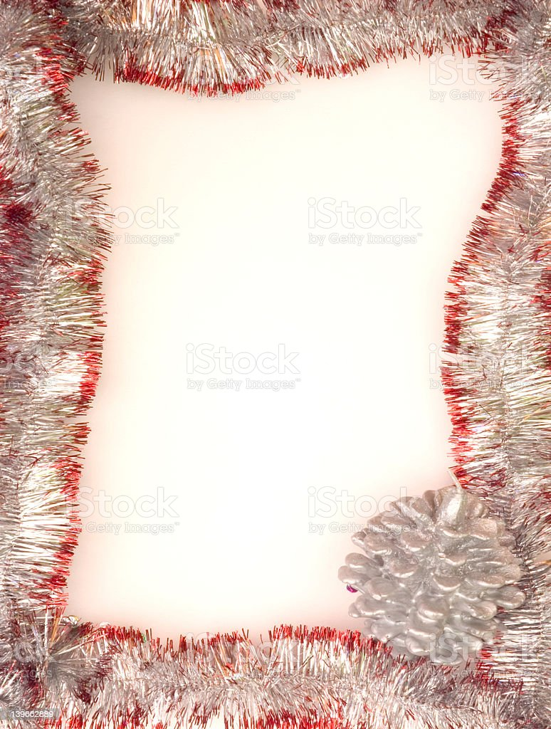 Christmas Framework royalty-free stock photo