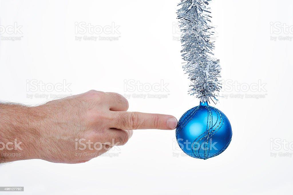 Christmas fuck stock photo