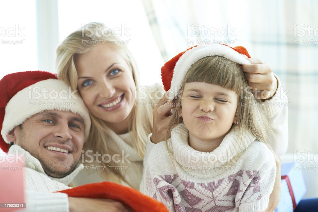 Christmas fun royalty-free stock photo