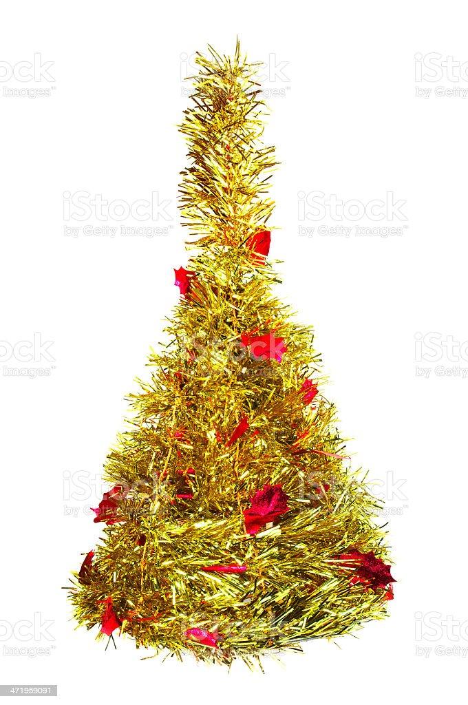 Árbol de navidad de piel foto de stock libre de derechos