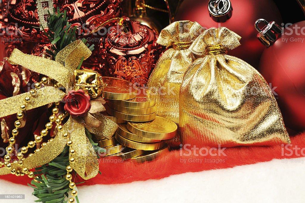 Christmas Gift - Large royalty-free stock photo