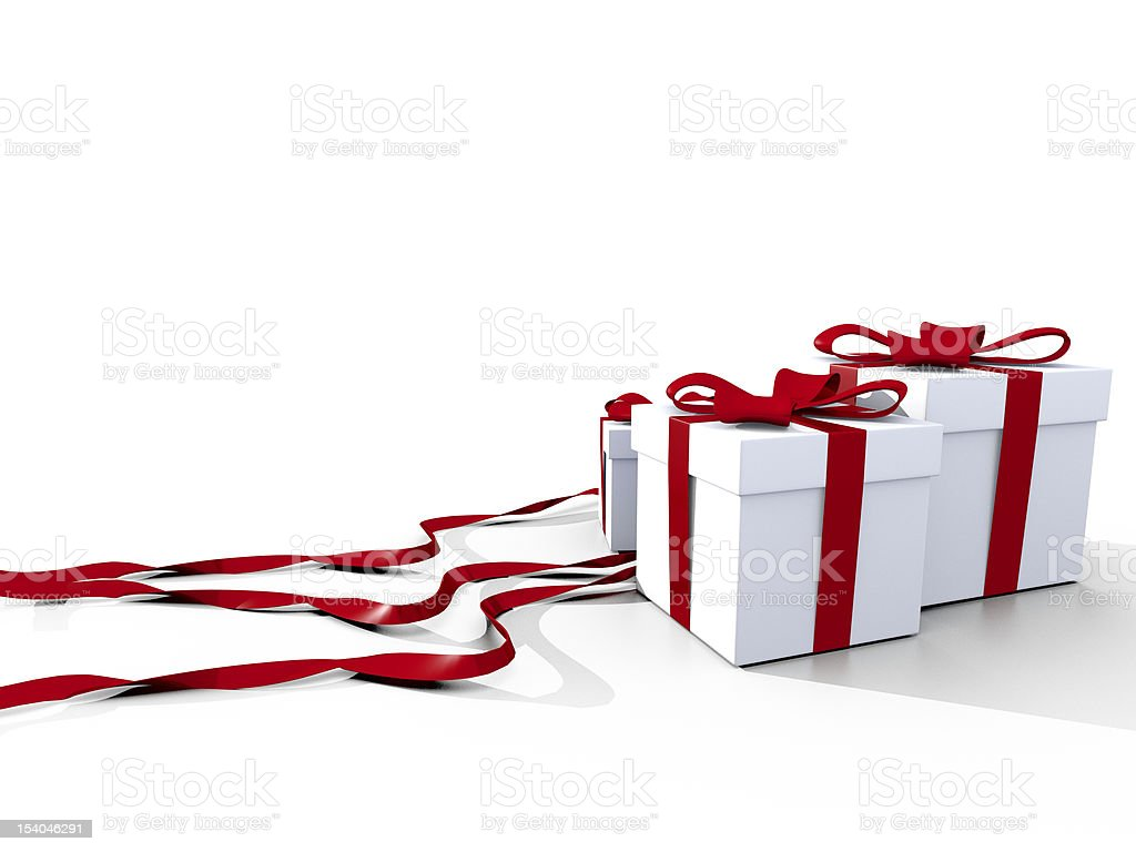 Christmas Gift royalty-free stock photo