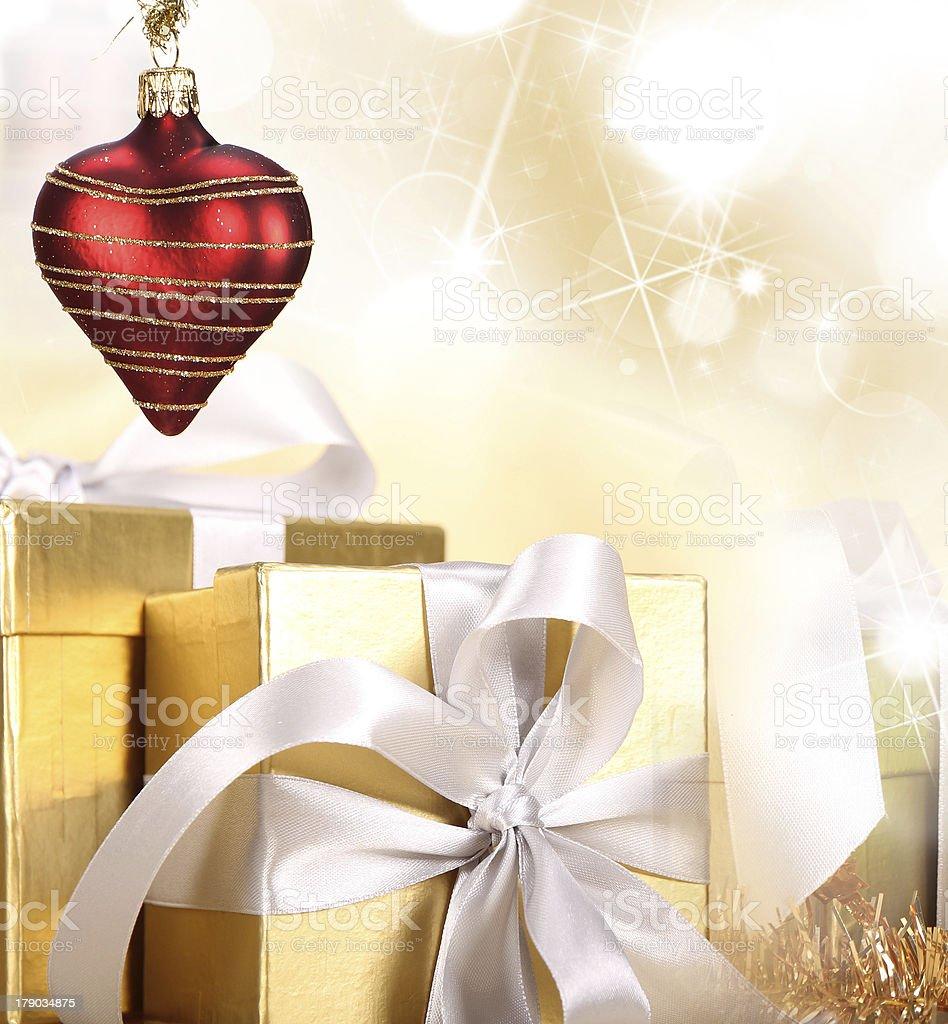 Christmas gift royalty-free stock photo