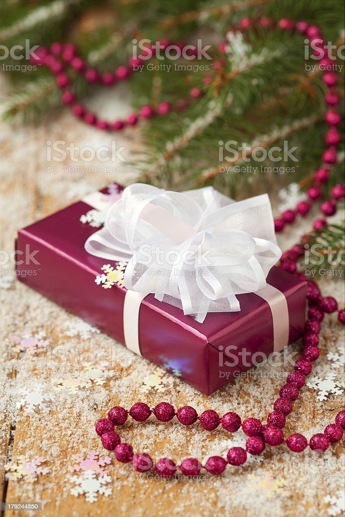 Presente de Natal foto royalty-free