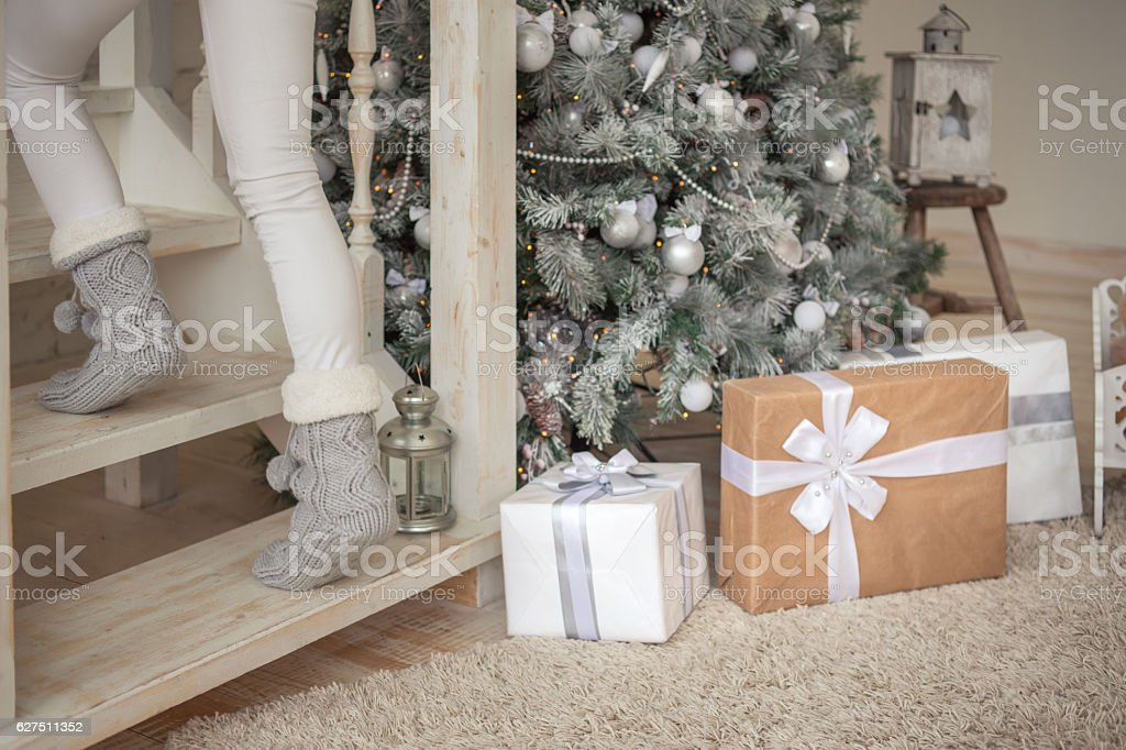 Christmas Gifts for Family stock photo