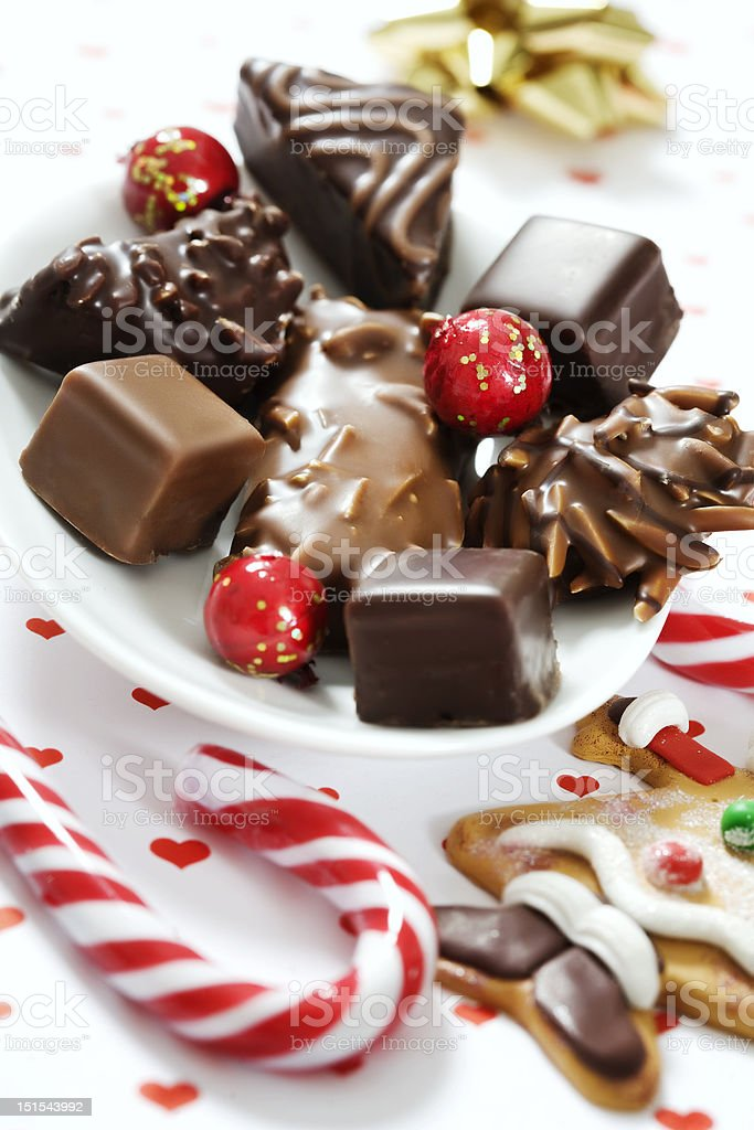 christmas gingerbread royalty-free stock photo