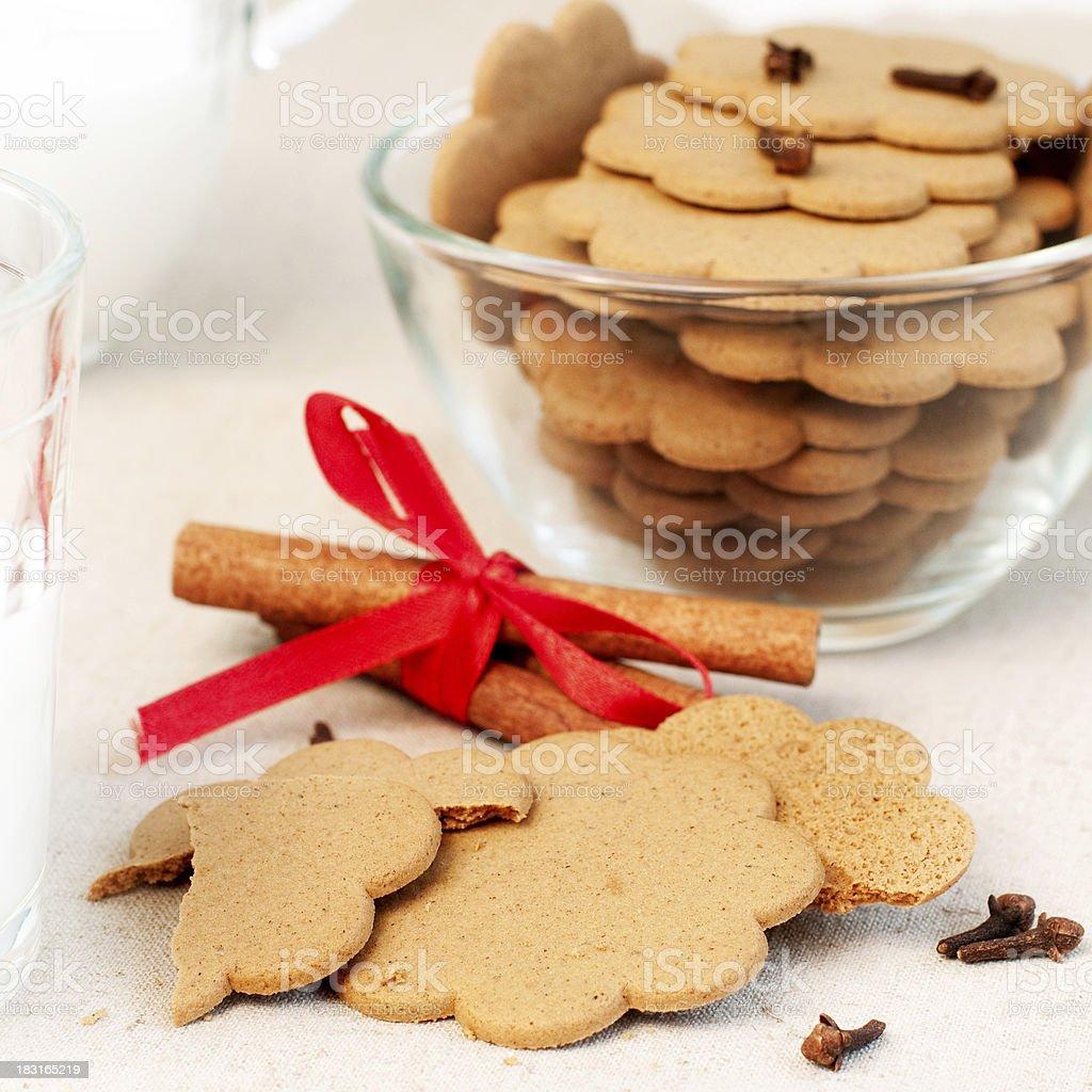 Pain d'épices de Noël photo libre de droits
