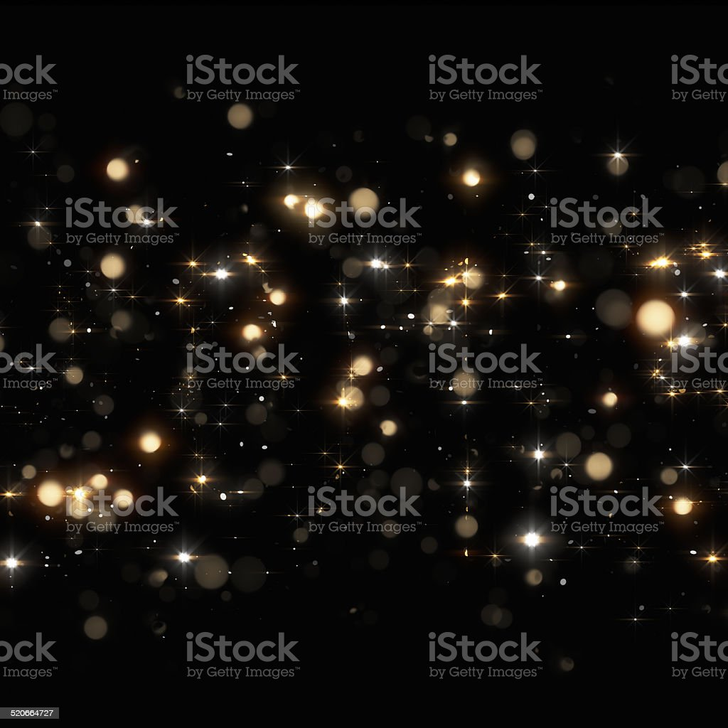 Christmas glittering background stock photo