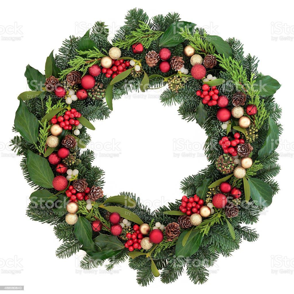 Christmas Greetings stock photo