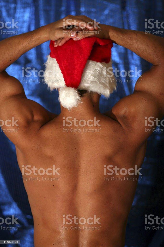 Christmas Guy royalty-free stock photo