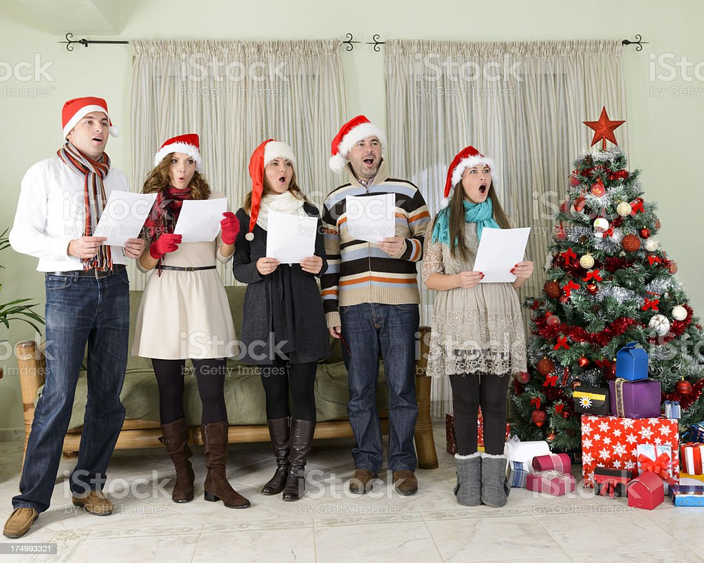 Christmas has come stock photo