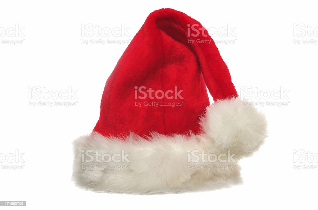 christmas hat royalty-free stock photo