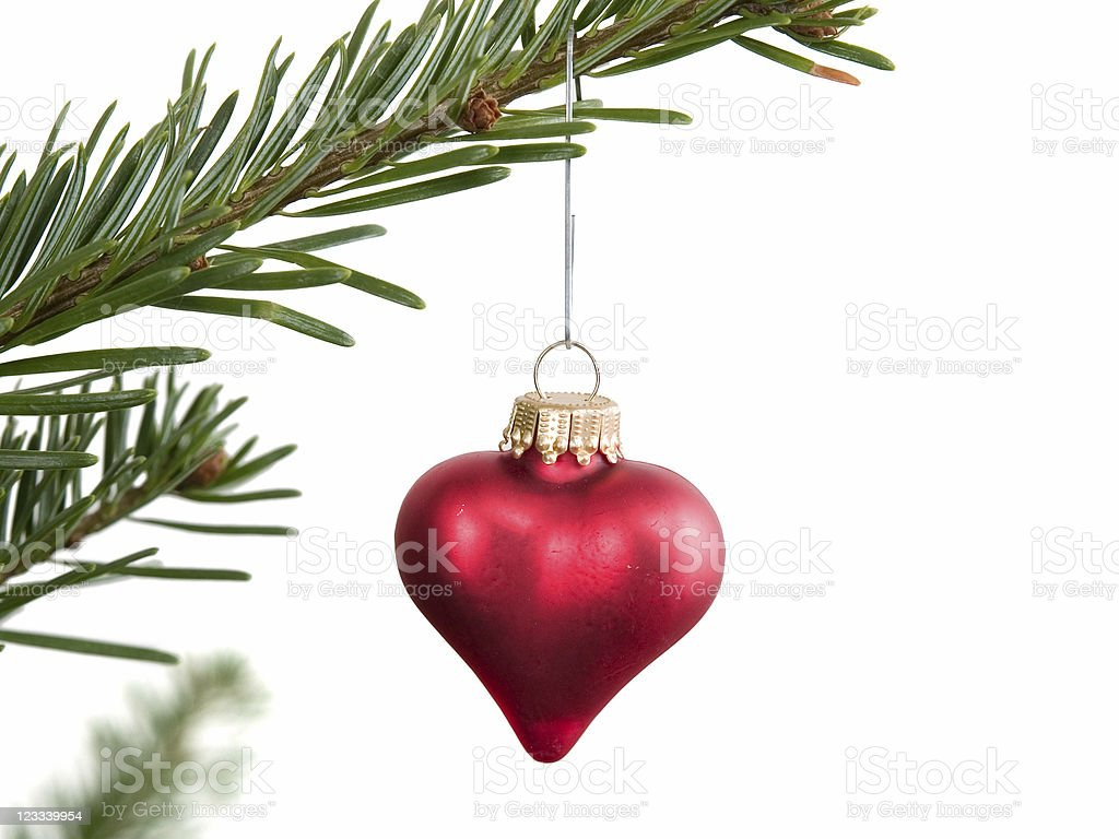 Christmas Heart royalty-free stock photo