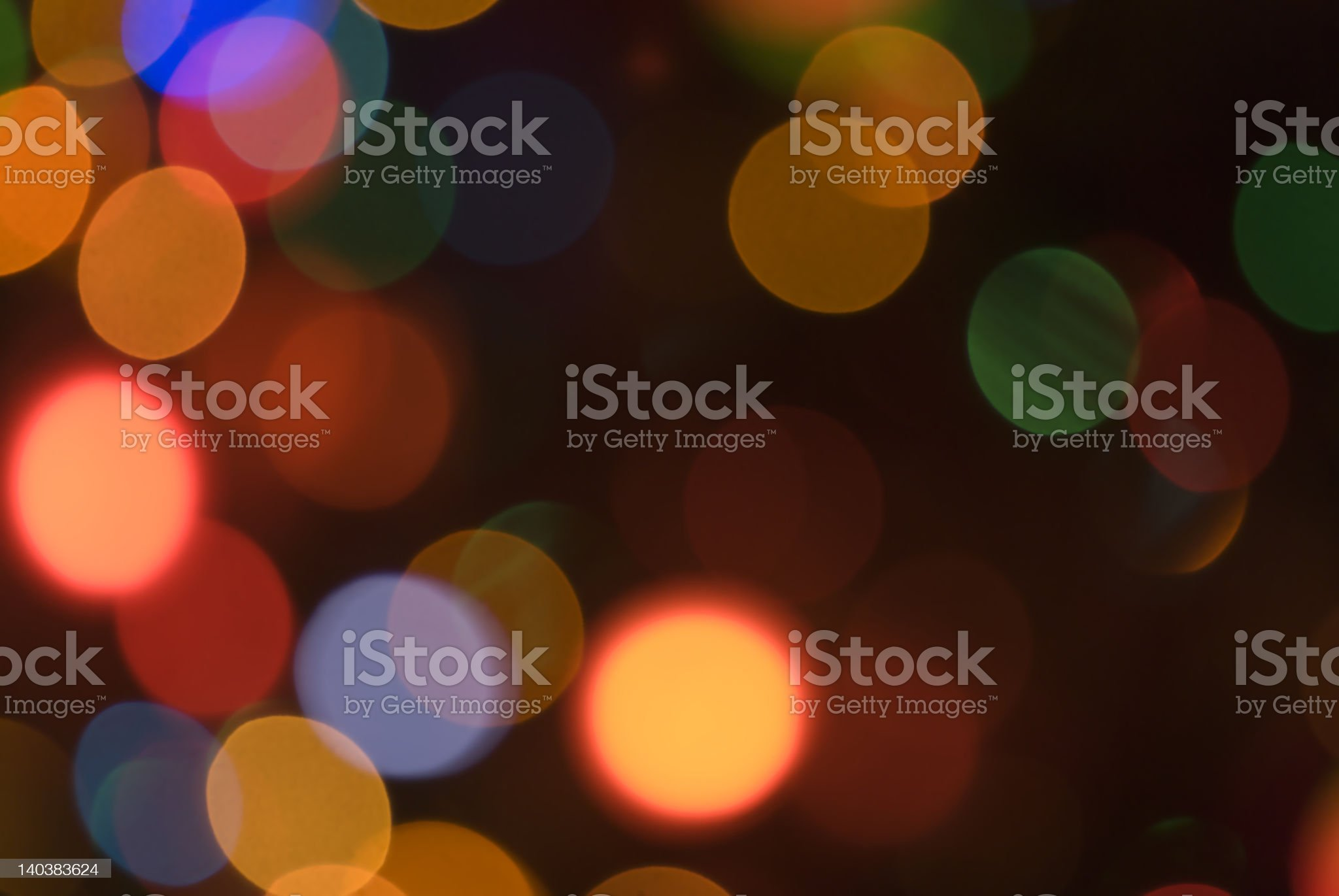 Christmas holiday lights soft focus background 01 royalty-free stock photo