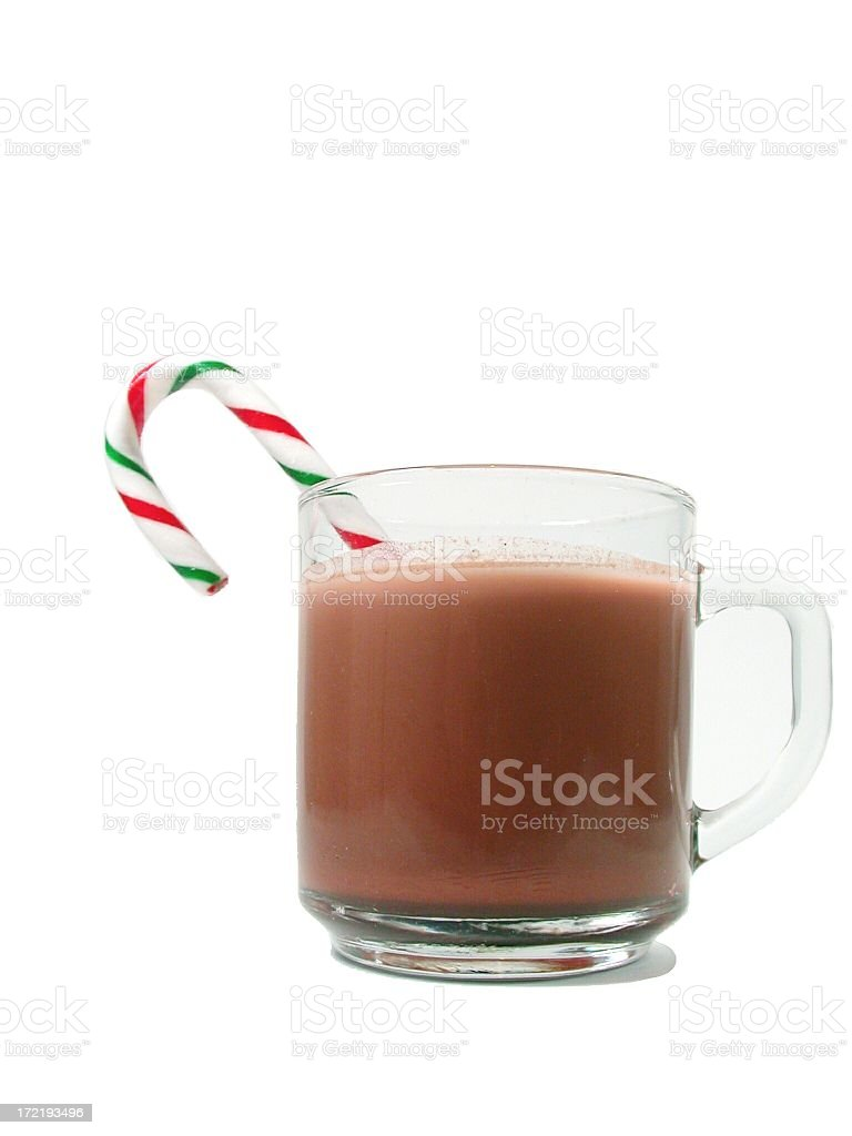 Christmas Hot Chocolate Cheer royalty-free stock photo