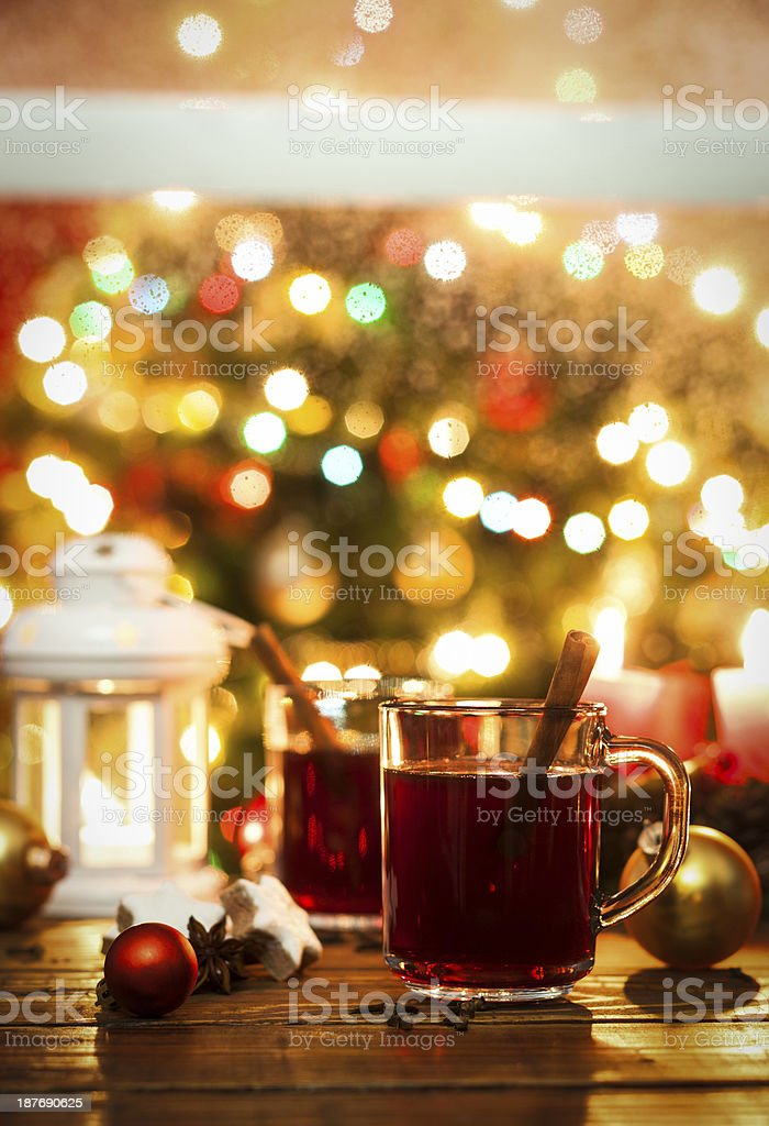 Christmas Hot Drink stock photo