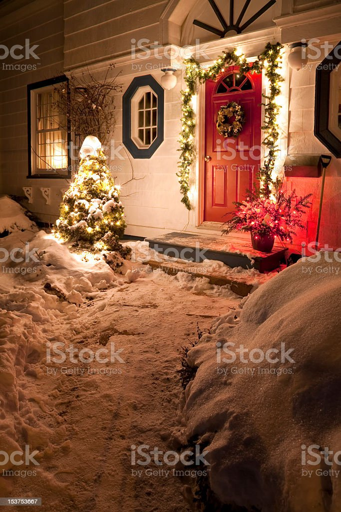 Christmas House royalty-free stock photo