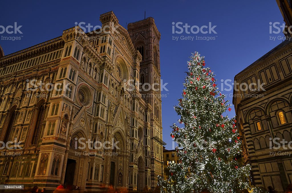 Christmas in Florence royalty-free stock photo