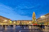 Christmas in Milan, Piazza del Duomo - Italy