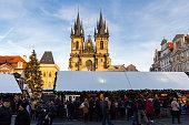 Christmas in Oldtown square (czech: Staromestske namesti)