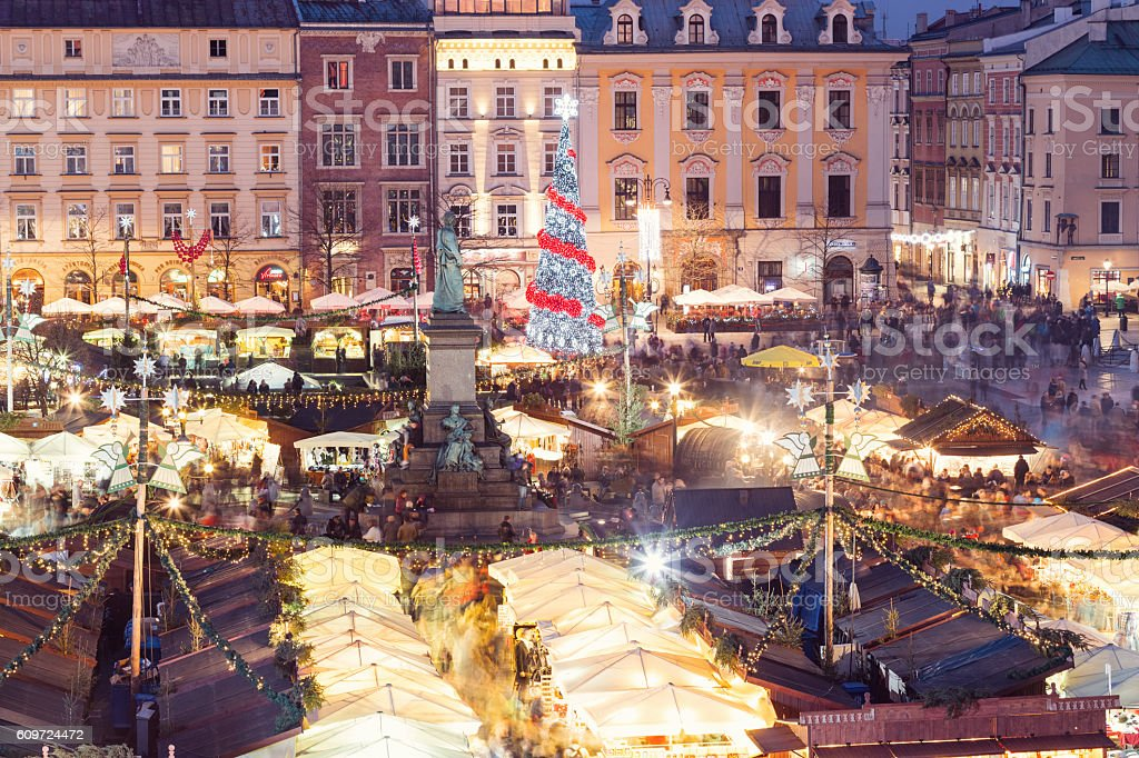 Christmas in Poland stock photo
