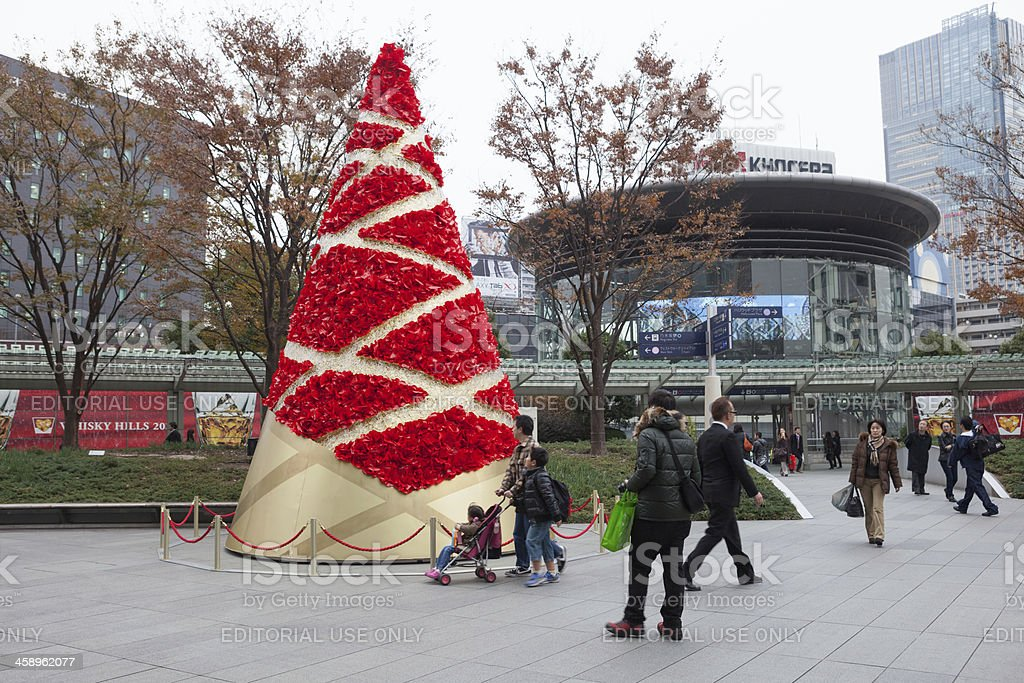Christmas in Roppongi Hills, Tokyo, Japan royalty-free stock photo